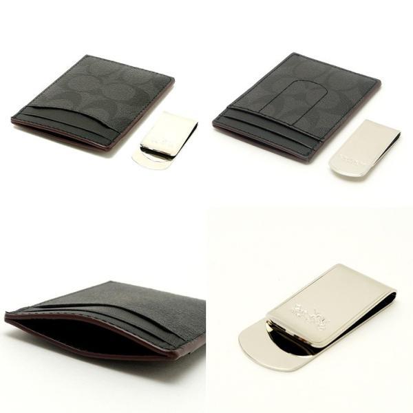 コーチ COACH 財布 メンズ マネークリップ カードケース 名刺入れ ギフトセット 41344NIOHM|zeitakuya|03
