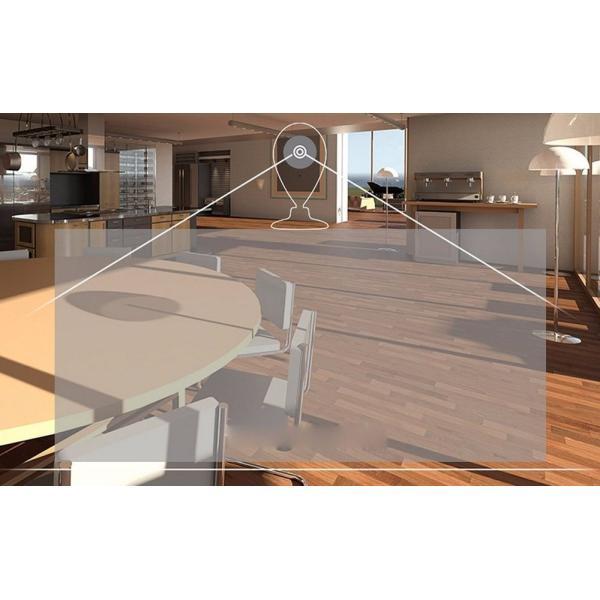 防犯カメラ ワイヤレス 5点 セット 監視カメラ 赤外線 暗視 録画 sdカード wifi 玄関 窓 人感センサー スターターキット ORVIBO|zeitakuya|18