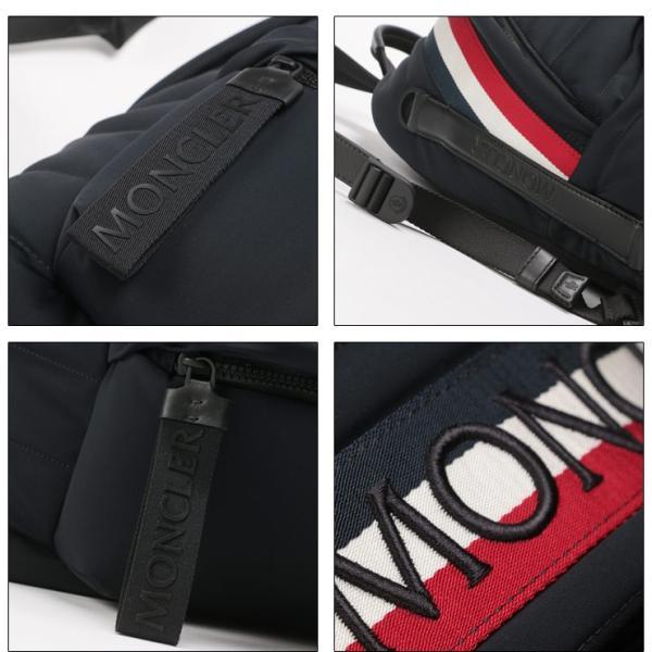 110e90469deb ... モンクレール MONCLER リュックサック トリコロール ロゴ バックパック ブランド メンズ バッグ 鞄 デイパック キルティング  MC0062800539AX| ...