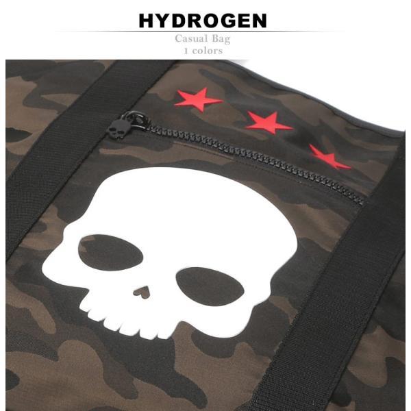 ハイドロゲン HYDROGEN トートバッグ 迷彩 スカル メンズ バッグ カモフラージュ HY243902 zen 02