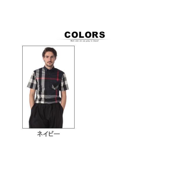 バーバリー BURBERRY シャツ 半袖 バーバリーチェック ボタンダウン メガチェック メンズ BB4045842|zen|06