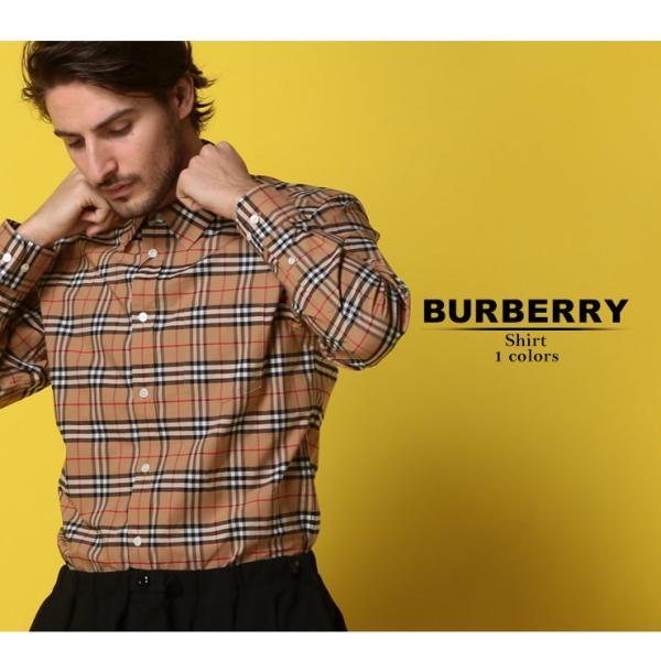 バーバリー BURBERRY シャツ 長袖 バーバリーチェック ノバチェック ストレッチ メンズ BB8004832|zen|02