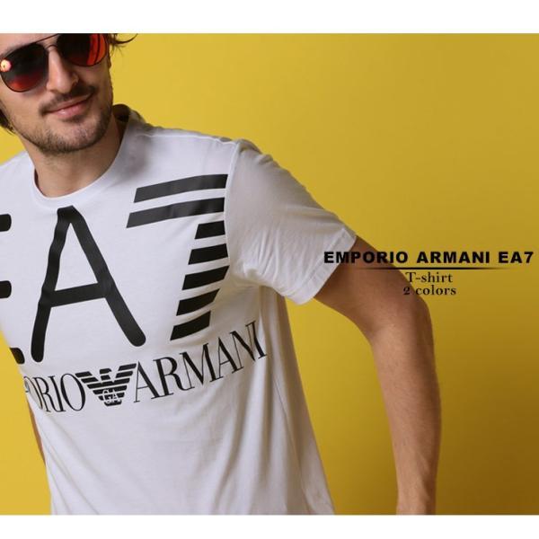 エンポリオ アルマーニ EA7 EMPORIO ARMANI Tシャツ 半袖 ロゴ プリント クルーネック メンズ EA3GPT06PJ02Z|zen|02