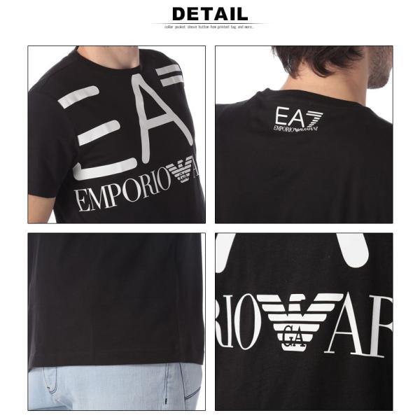 エンポリオ アルマーニ EA7 EMPORIO ARMANI Tシャツ 半袖 ロゴ プリント クルーネック メンズ EA3GPT06PJ02Z|zen|06