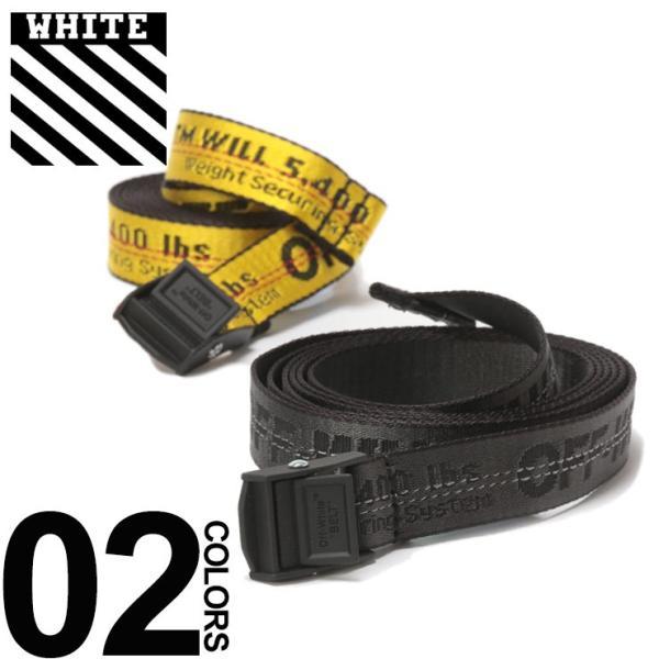 オフホワイト OFF-WHITE レディース ベルト ロゴ MINI INDUSTRIAL ブランド OWLRB11S1922307|zen