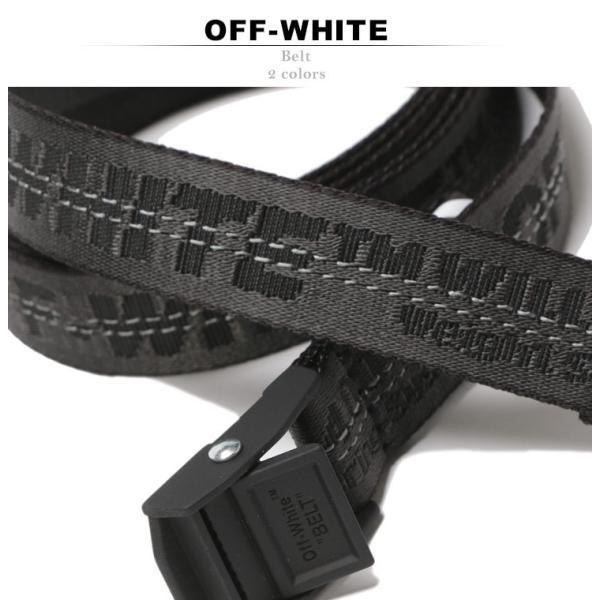 オフホワイト OFF-WHITE レディース ベルト ロゴ MINI INDUSTRIAL ブランド OWLRB11S1922307|zen|02