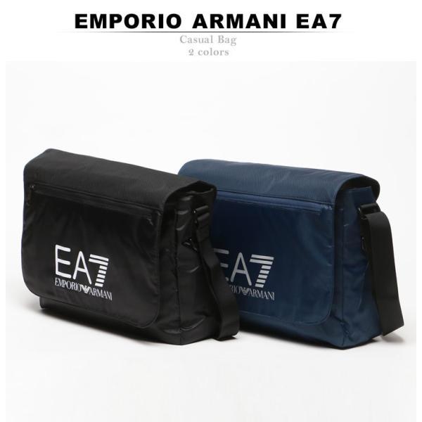 エンポリオ アルマーニ EMPORIO ARMANI EA7 ナイロン ロゴプリント メッセンジャーバッグ ショルダーバッグ 275660 ブランド メンズ|zen|02