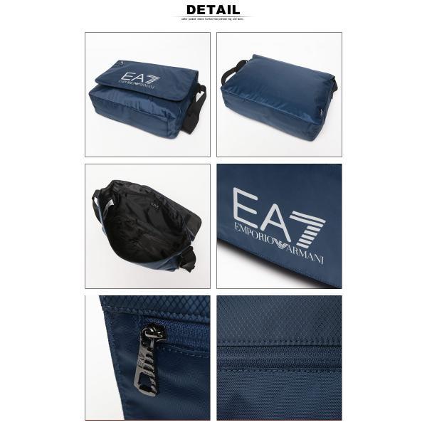 エンポリオ アルマーニ EMPORIO ARMANI EA7 ナイロン ロゴプリント メッセンジャーバッグ ショルダーバッグ 275660 ブランド メンズ|zen|03