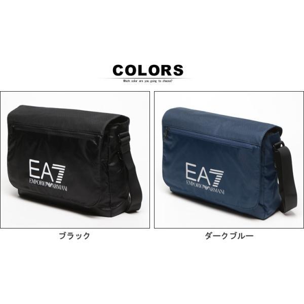 エンポリオ アルマーニ EMPORIO ARMANI EA7 ナイロン ロゴプリント メッセンジャーバッグ ショルダーバッグ 275660 ブランド メンズ|zen|04