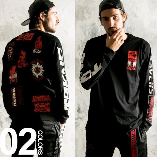 ディーゼル DIESEL Tシャツ 長袖 ロンT バックプリント 袖プリント クルーネック ブランド メンズ トップス DSSHCW091A t-shirt|zen