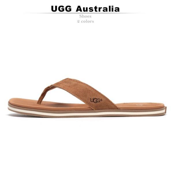 アグオーストラリア UGG AUSTRALIA サンダル トング スエード レザー BEACH FLIP ビーチフリップ ブランド メンズ スウェード UGG1020084|zen|02