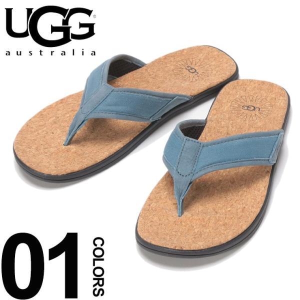 アグ オーストラリア UGG Australia サンダル トングサンダル SEASIDE FLIP BLUE メンズ ビーチサンダル UGG1099749|zen