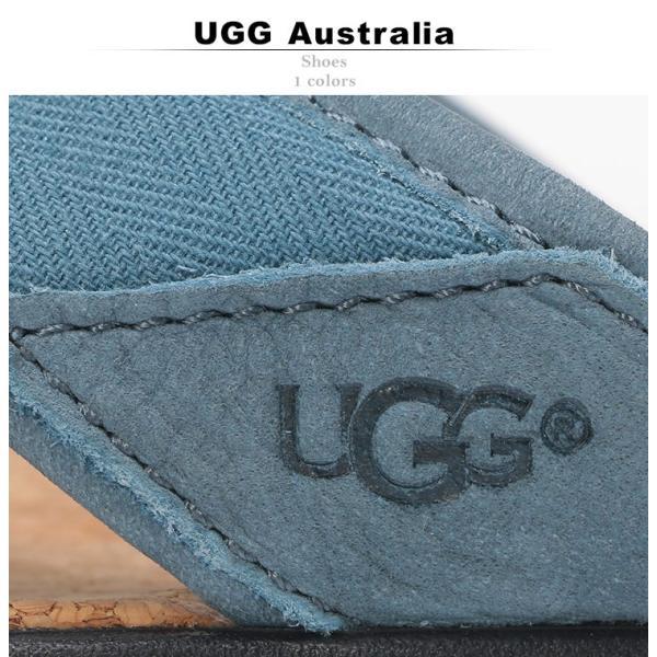 アグ オーストラリア UGG Australia サンダル トングサンダル SEASIDE FLIP BLUE メンズ ビーチサンダル UGG1099749|zen|02