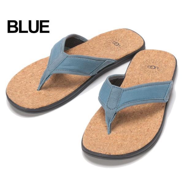 アグ オーストラリア UGG Australia サンダル トングサンダル SEASIDE FLIP BLUE メンズ ビーチサンダル UGG1099749|zen|03