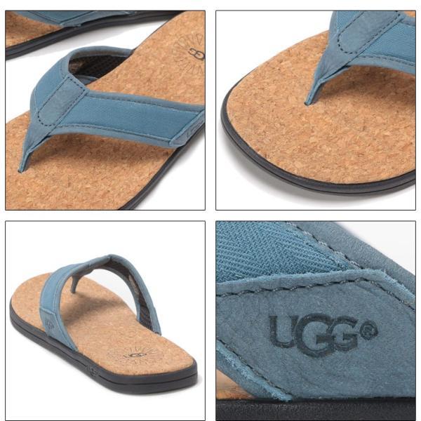 アグ オーストラリア UGG Australia サンダル トングサンダル SEASIDE FLIP BLUE メンズ ビーチサンダル UGG1099749|zen|05