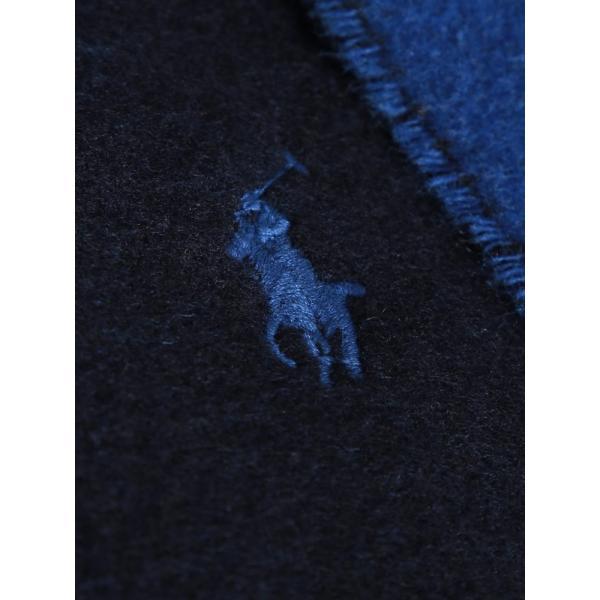 ポロ ラルフローレン マフラー POLO RALPH LAUREN リバーシブル ウール ロゴ 無地 プレーン ブランド メンズ レディース RLEPCO455 zen 09