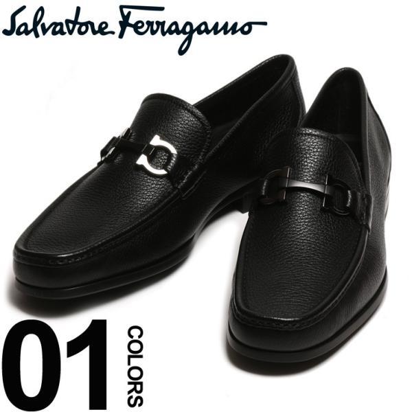 サルバトーレ フェラガモ Salvatore Ferragamo ローファー レザー ガンチーニ メンズ ブランド ビジネス シューズ タッセル 革靴 紳士 FGGRANDIOSO8F|zen