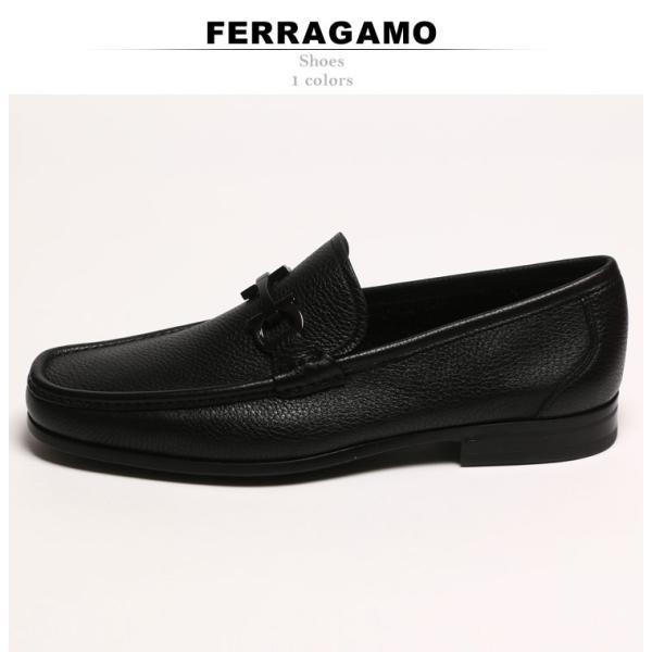 サルバトーレ フェラガモ Salvatore Ferragamo ローファー レザー ガンチーニ メンズ ブランド ビジネス シューズ タッセル 革靴 紳士 FGGRANDIOSO8F|zen|02