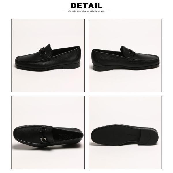 サルバトーレ フェラガモ Salvatore Ferragamo ローファー レザー ガンチーニ メンズ ブランド ビジネス シューズ タッセル 革靴 紳士 FGGRANDIOSO8F|zen|04