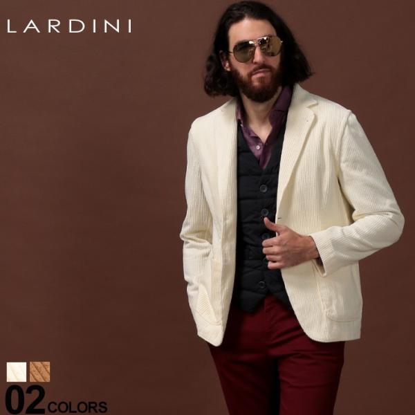 ラルディーニ ジャケット LARDINI コーデュロイ シングル 2ツ釦 2B ブランド メンズ アウター テーラード コットン LDAMAC1094|zen