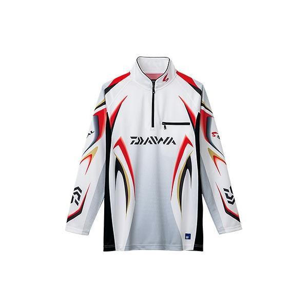 ダイワ スペシャル アイスドライ ジップアップ 長袖 メッシュシャツ DE-7006 /M/L/XL 鮎 ウェア|zeniya-tsurigu|03