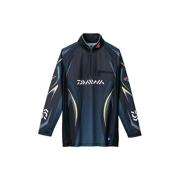 ダイワ スペシャル アイスドライ ジップアップ 長袖 メッシュシャツ DE-7006 /M/L/XL 鮎 ウェア|zeniya-tsurigu|04