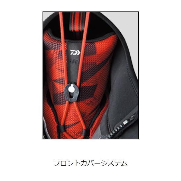 ダイワ F1 スペシャルシューズ F1SP-1080(先丸)マスターブラック / 鮎 タビ|zeniya-tsurigu|03