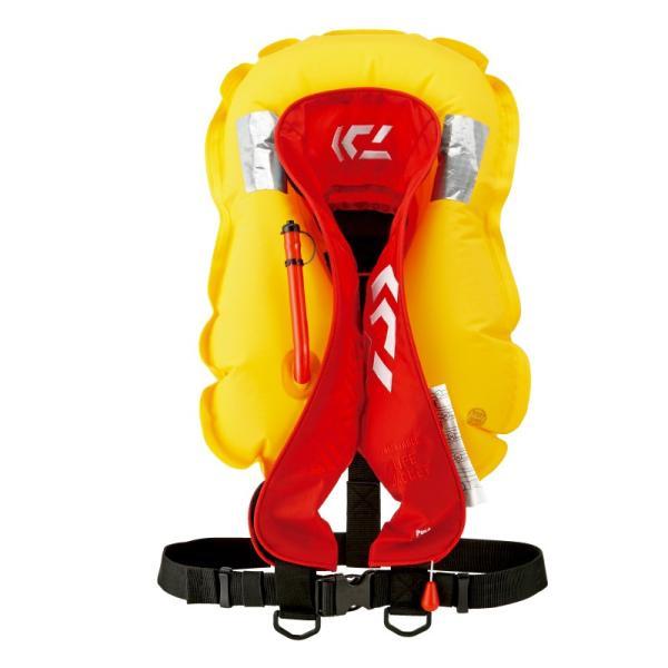 ダイワ ライフジャケット インフレータブルライフジャケット(肩掛けタイプ手動・自動膨脹式) DF-2608|zeniya-tsurigu|04