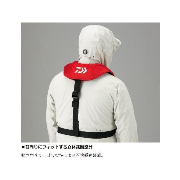 ダイワ ライフジャケット インフレータブルライフジャケット(肩掛けタイプ手動・自動膨脹式) DF-2608|zeniya-tsurigu|05