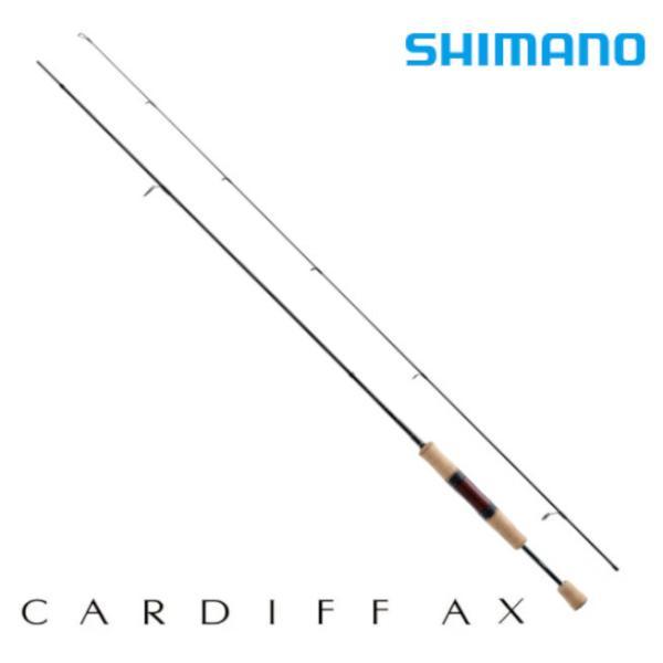 シマノ ロッド カーディフ AX S62SUL 2ピース