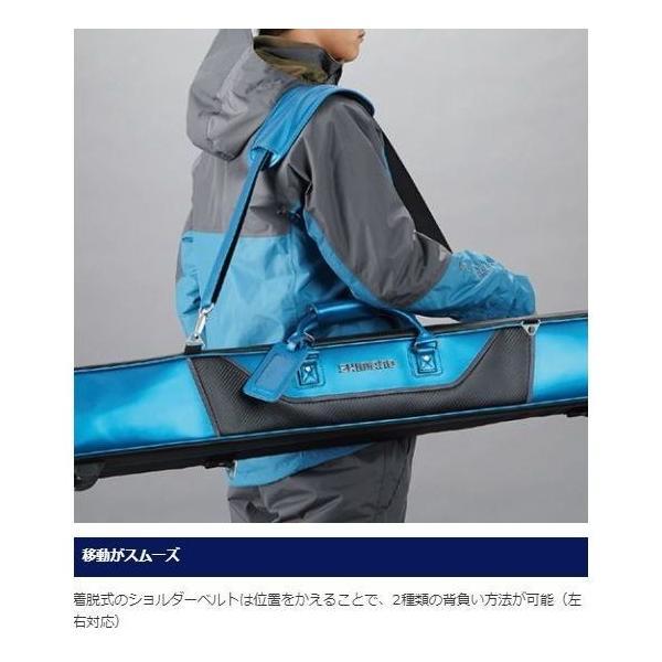 シマノ へらロッドケースXT  RC-012Q 3層  / ヘラバッグ|zeniya-tsurigu|06