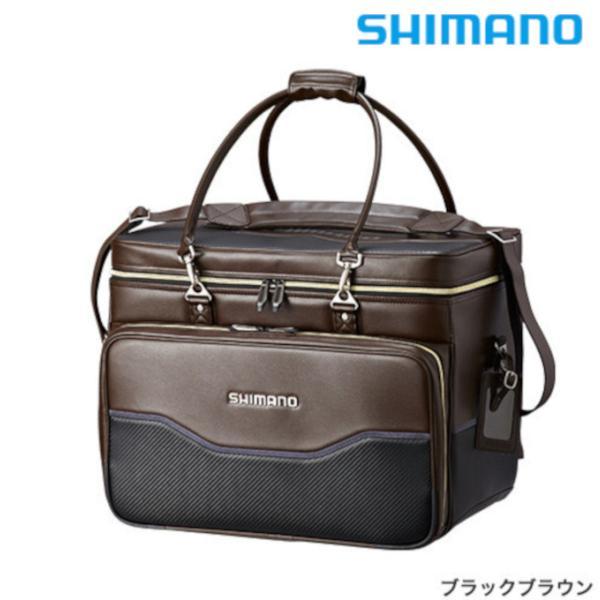 シマノ へらバッグXT BA-012Q 50L ブラックブラウン / ヘラバッグ