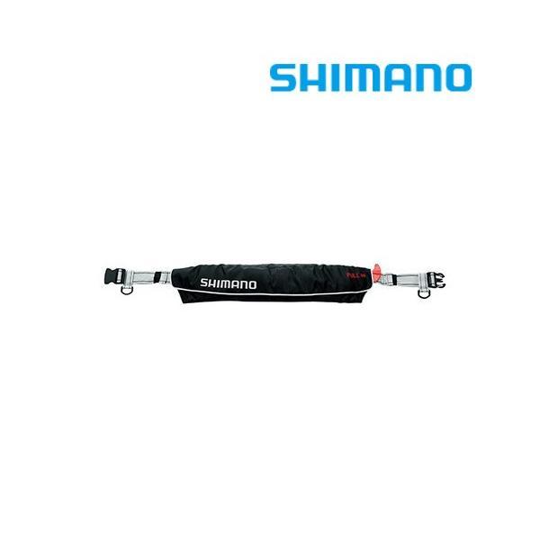 シマノ ライフジャケット ラフトエアジャケット(ウエストタイプ・膨脹式救命具)  VF-052K|zeniya-tsurigu