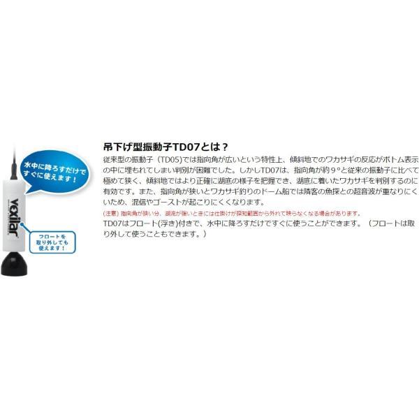 ホンデックス 魚探 PS-500C TD07 ワカサギパック zeniya-tsurigu 02