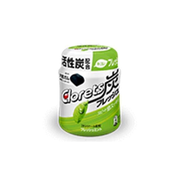 クロレッツ炭フレッシュ<フレッシュミント>ボトル 127g入 1個   モンデリーズ・ジャパン(株)