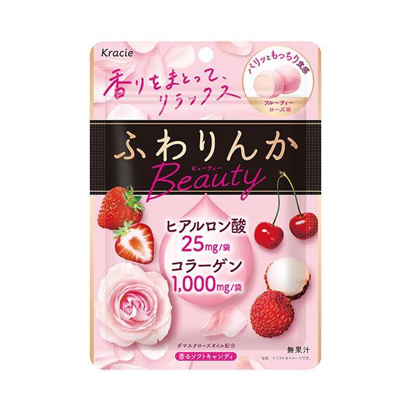 ふわりんか ビューティー フルーティーローズ味 60g入×8個 1BOX クラシエフーズ(株)