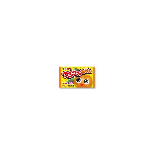 つぶつぶみかんガム(当たり付) 55個+あたり分5個入 丸川製菓(株)
