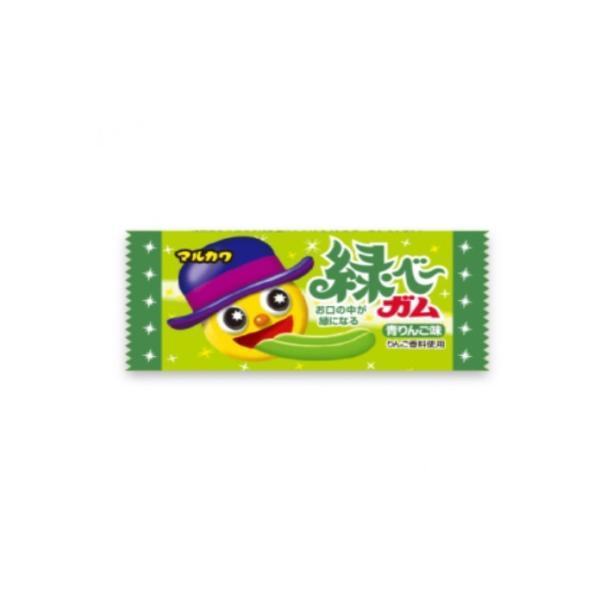 緑べ〜ガム(当たり付) 50個+あたり分3個入 丸川製菓(株)