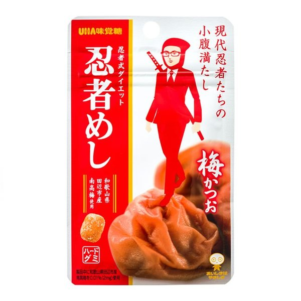 忍者めし 梅かつお 20g入×10個 UHA味覚糖(株)