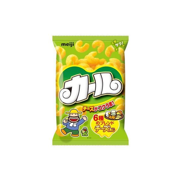 カール チーズ味 64g入×10袋 1ケース (株)明治 【4ケースまで1個口送料でお届けが可能です】