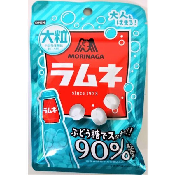 森永大粒ラムネ 41g×10個 森永製菓(株)※ラムネ菓子です。