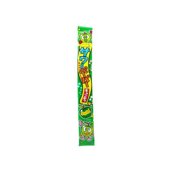 サワーペーパーキャンディ アップル味 36個入 (株)やおきん 【原産国:タイ】