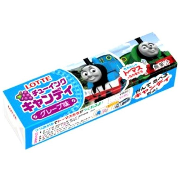 きかんしゃトーマスとなかまたちチューイングキャンディ グレープ味 5枚入×20個 (株)ロッテ