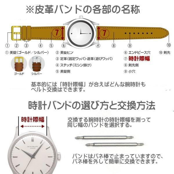 マルマン 時計バンド 紳士革バンド リザード(トカゲ) 黒 時計際幅 18mm 美錠幅 14mm DM便で送料無料(代引き不可)