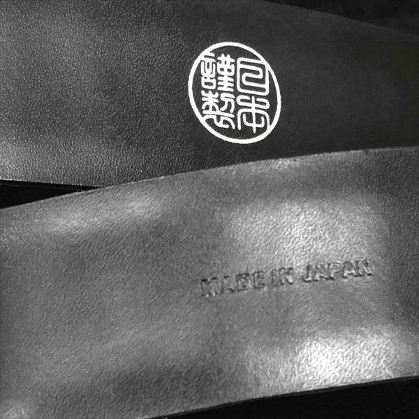 日本謹製メンズベルト クロコダイル型押し ソフトマット仕上げ ブラック 135100-10 ギフト プレゼント zennsannnet 03