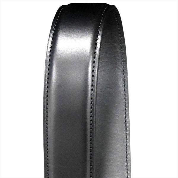 日本謹製メンズベルト 牛革 オイル加工スムース仕上げ ブラック 135201-10 ギフト プレゼント|zennsannnet|04