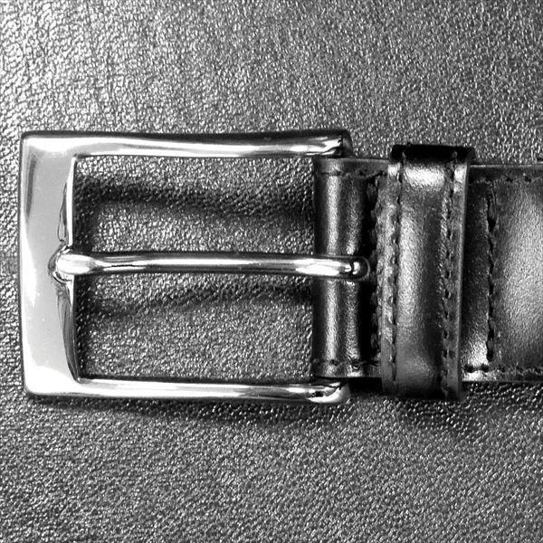 日本謹製メンズベルト 牛革 オイル仕上げ ソフトガラスアンティーク加工 ブラック 135203-10 ギフト プレゼント|zennsannnet|02