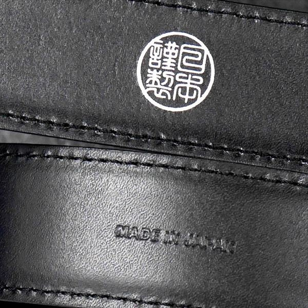 日本謹製メンズベルト 牛革 オイル仕上げ ソフトガラスアンティーク加工 ブラック 135203-10 ギフト プレゼント|zennsannnet|03