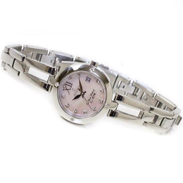 フォーエバー Forever レディス腕時計 ピンクシェル文字盤  ポイントインデックス FL1211-5 ギフト プレゼント 誕生日|zennsannnet|02