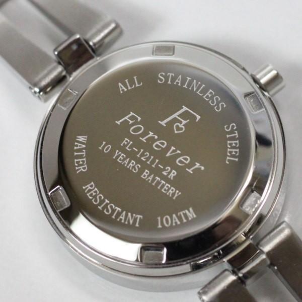 フォーエバー Forever レディス腕時計 ピンクシェル文字盤  ポイントインデックス FL1211-5 ギフト プレゼント 誕生日|zennsannnet|04
